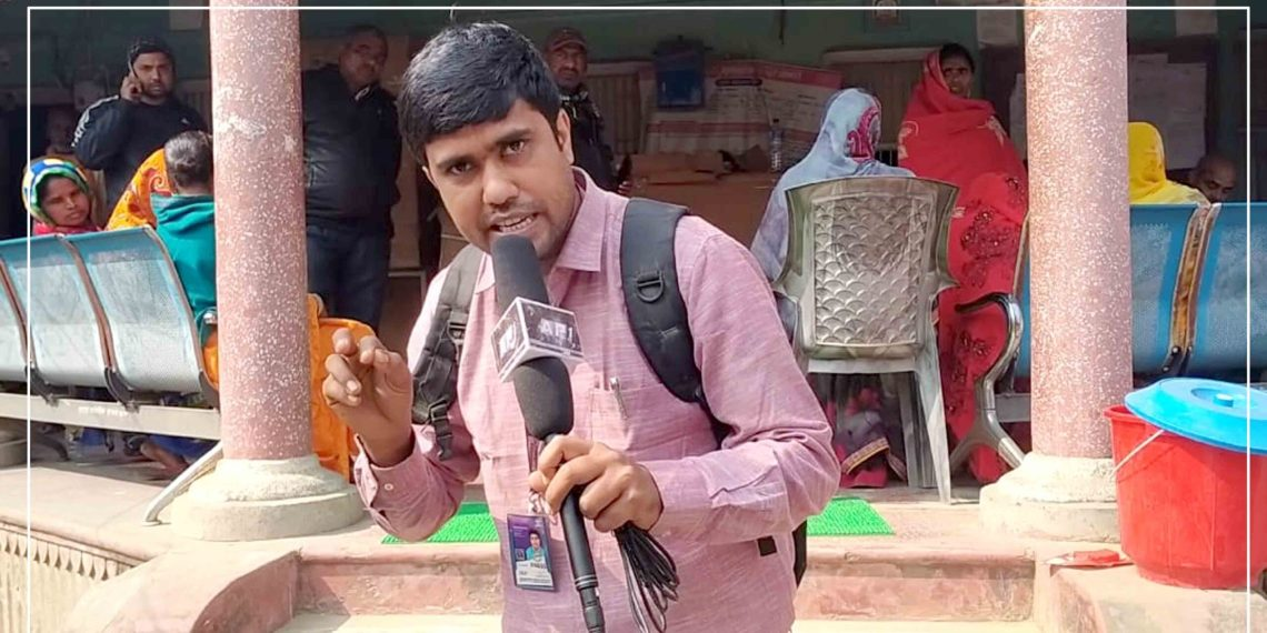 Local users committee chair misbehaves with the reporter in Mahottari