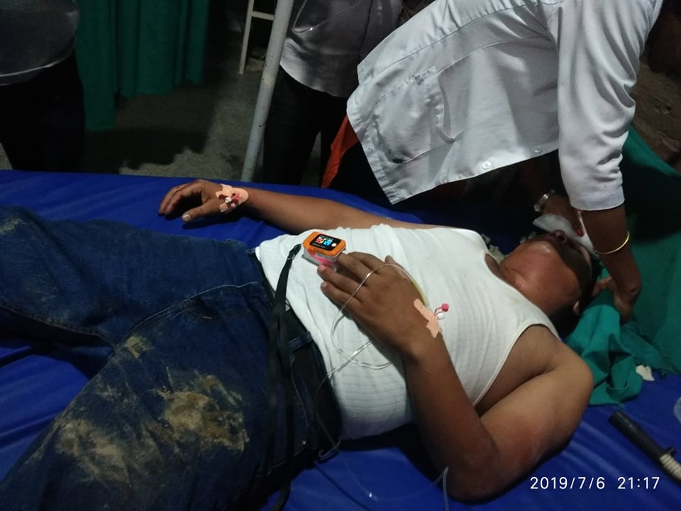 Journalist attacked brutally by security officials