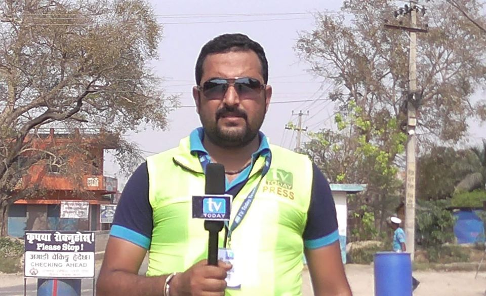 Journalist Arrested from Parsa